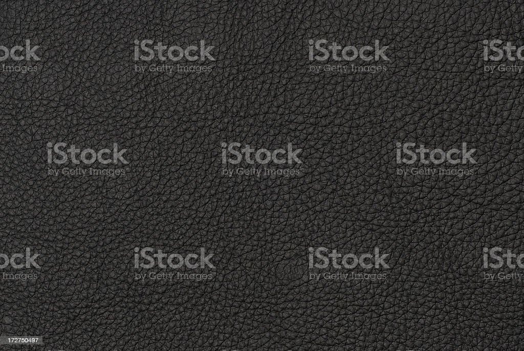 Hi-Res Black Leather Texture Image stock photo