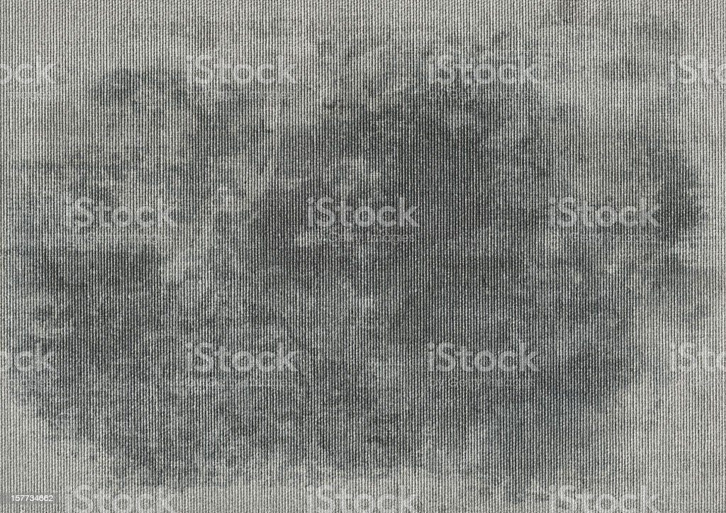Hi-Res Dark Gray Artists' Cotton Duck Canvas Mottled Grunge Texture royalty-free stock photo
