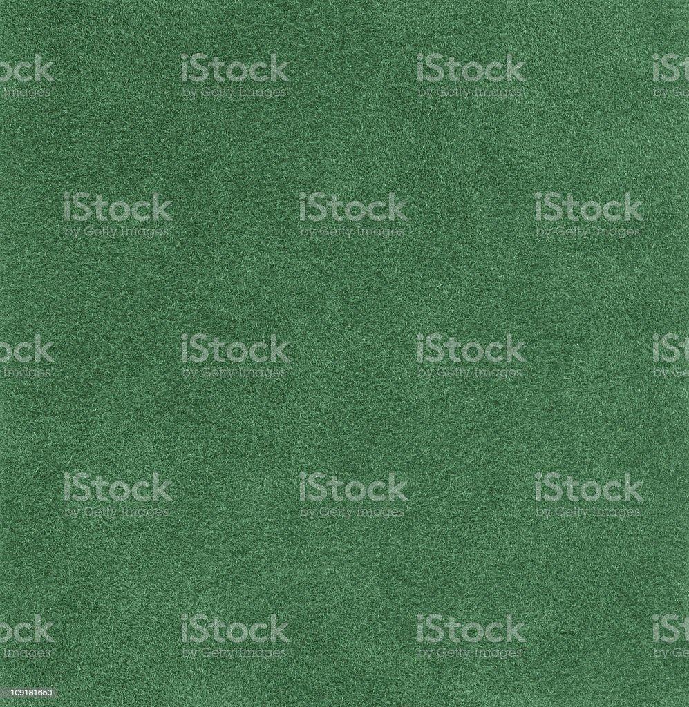 Hi-res green felt background royalty-free stock photo
