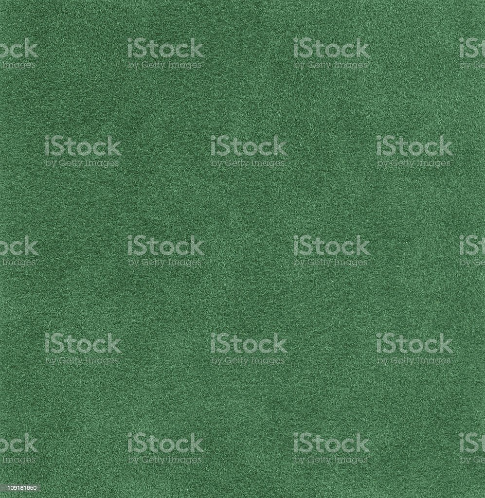 Hi-res green felt background stock photo