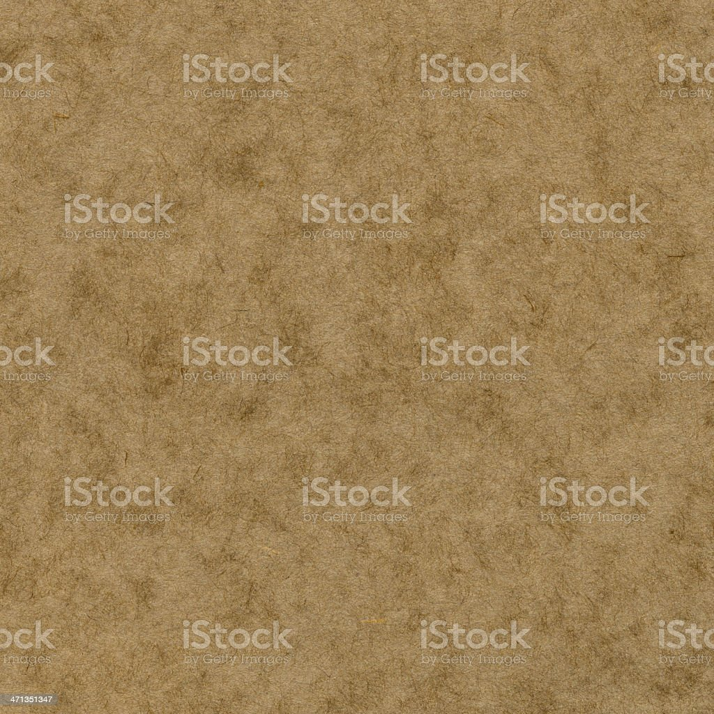 Hi-res kraft / cardboard paper texture royalty-free stock photo