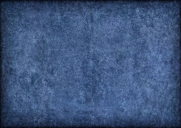 hi-res marine blue pig leather suede vignette grunge texture - saturated color stock pictures, royalty-free photos & images