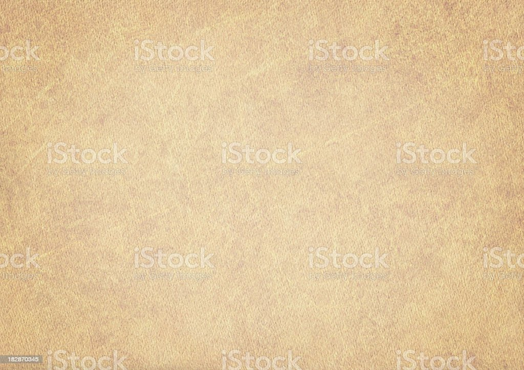 Hi-Res Old Beige Card Stock Watercolor Paper Vignetted Grunge Texture stock photo