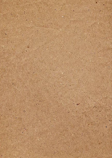 Hi-Res Old Recycle Brown Kraft Paper Painted Grunge Texture stock photo