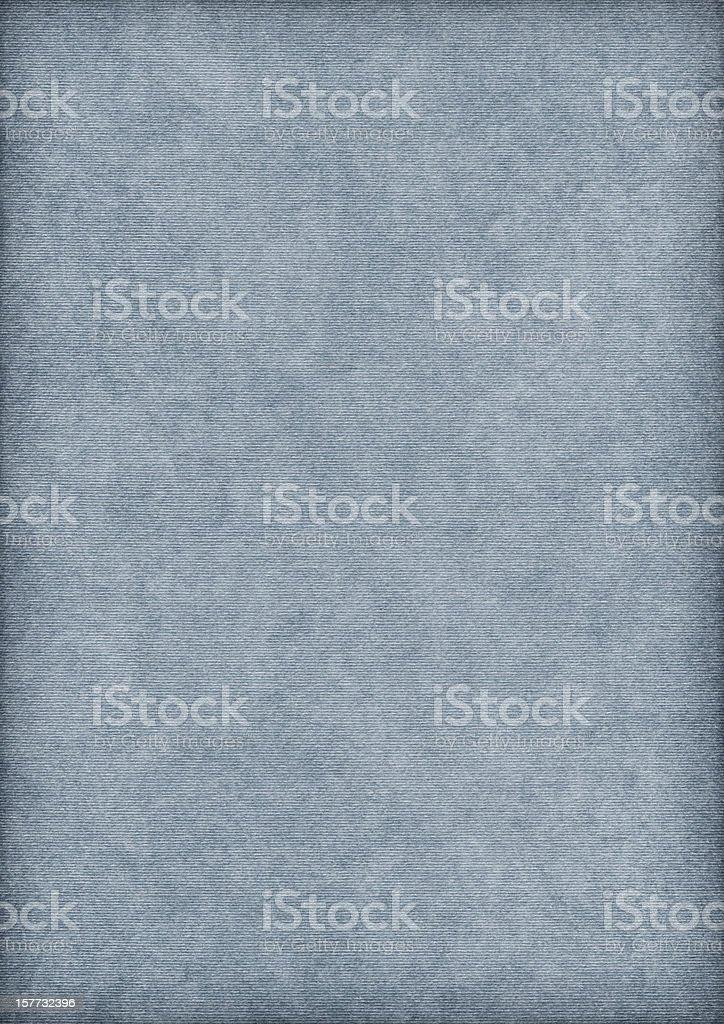 Hi-Res Powder Blue Striped Pastel Paper Mottled Vignette Grunge Texture royalty-free stock photo