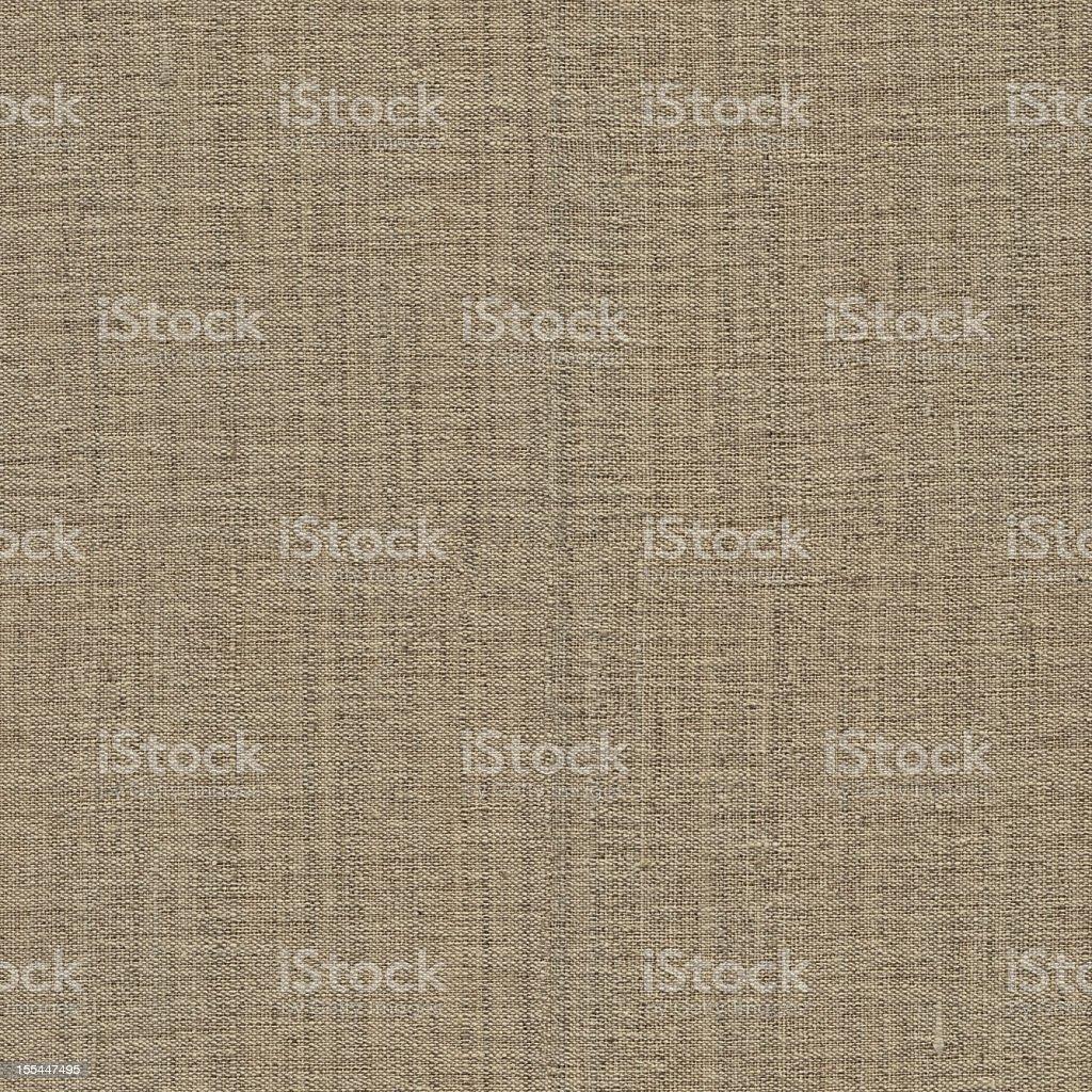 Hi-Res Seamless Artist's Coarse Unprimed Linen Duck Canvas Grunge Texture royalty-free stock photo