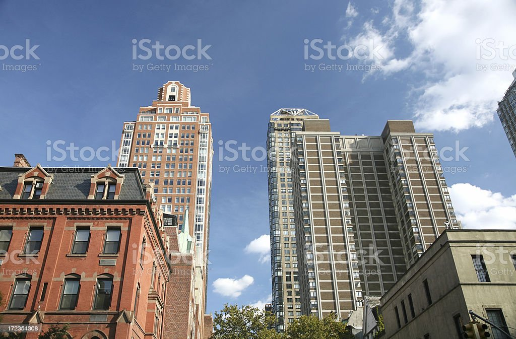 Hi-Rise Apartments In Manhattan's Upper East Side royalty-free stock photo