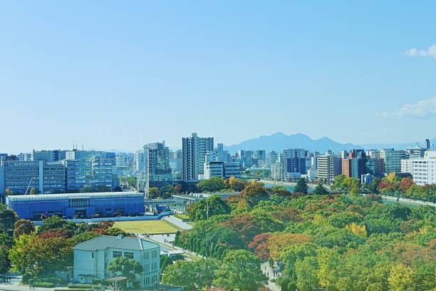 Hiroshima HDR Hiroshima HDR hiroshima prefecture stock pictures, royalty-free photos & images