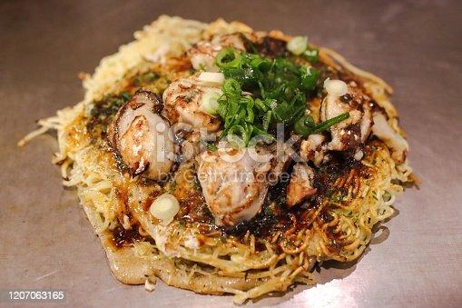 istock Hiroshima style Okonomiyaki 1207063165