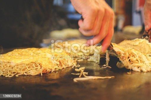 istock Hiroshima style Okonomiyaki 1269023234