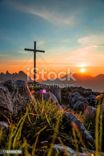 Sonnenuntergang im wunderschönen Berchtesgadener Land
