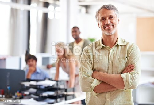 istock His business ideas are groundbreaking! 471651715