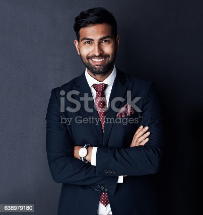 istock His confidence sets him apart from other entrepreneurs 638979180
