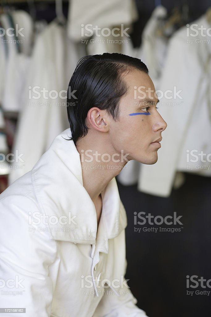 His Fashion Serious stock photo