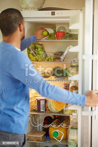 istock His fridge encourages healthy eating 623865810