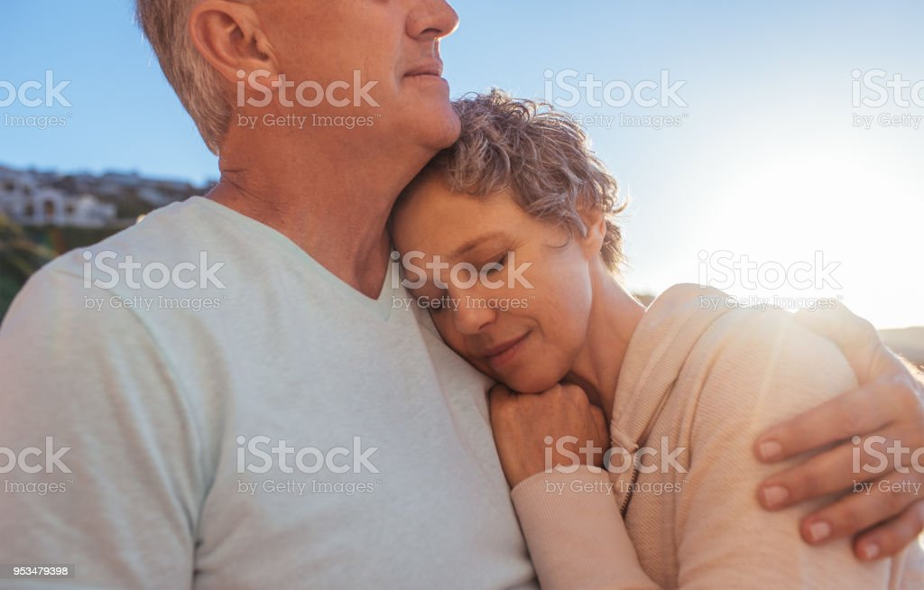 His heart sounds like home stock photo