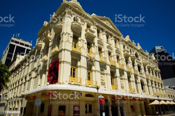 His Majesty's Theatre is a baroque style theatre completed in 1904
