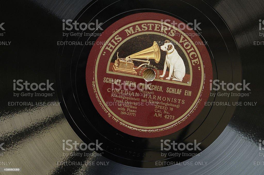 Seinen Master's Stimme Rekord – Foto