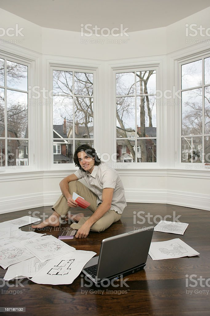 His New Place royalty-free stock photo