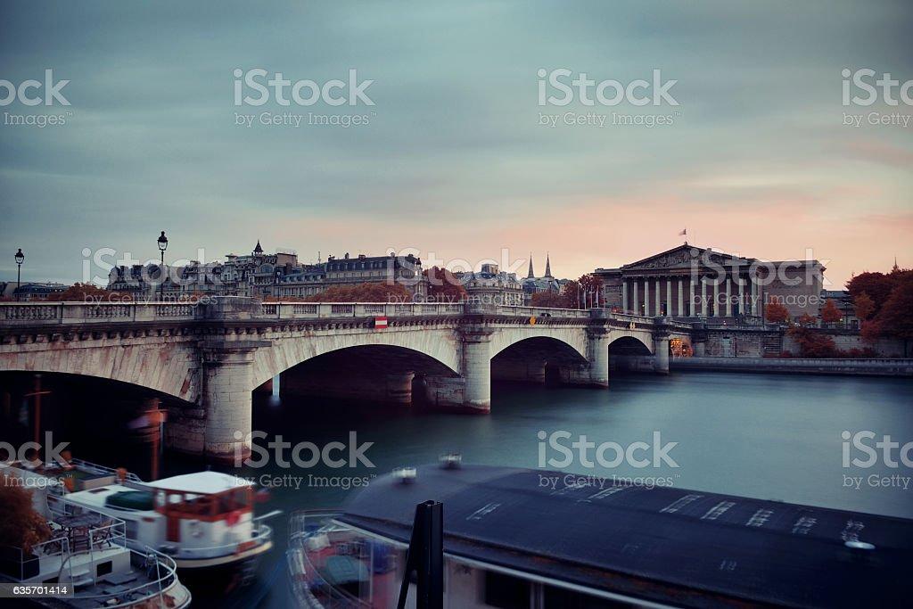 Seine royalty-free stock photo