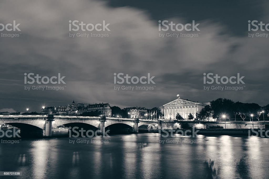 Seine royalty-free stock photo