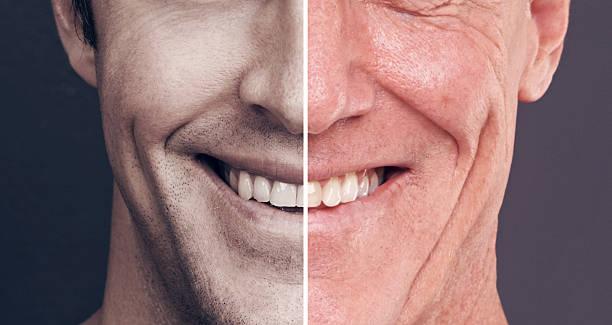 His smile never fades stock photo