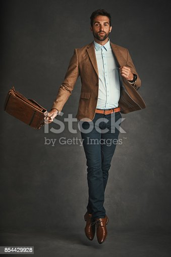 664626542 istock photo His style is on a next level 854429928