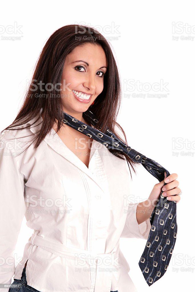 His Tie stock photo