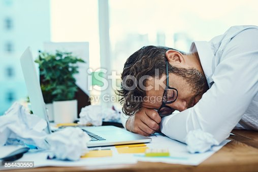 istock His work performance has taken a dive 854430550