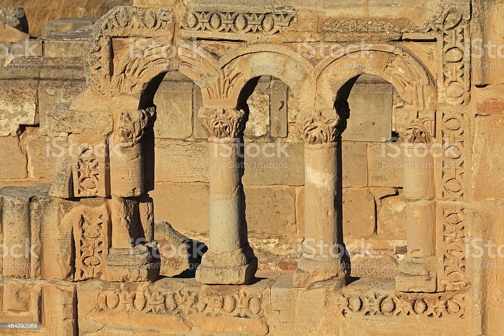 Hisham's Palace royalty-free stock photo