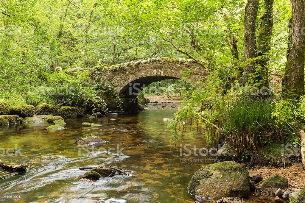 Hisley Bridge stock photo