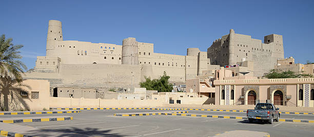 Hisn Tamah Fort, Bahla, Oman stock photo