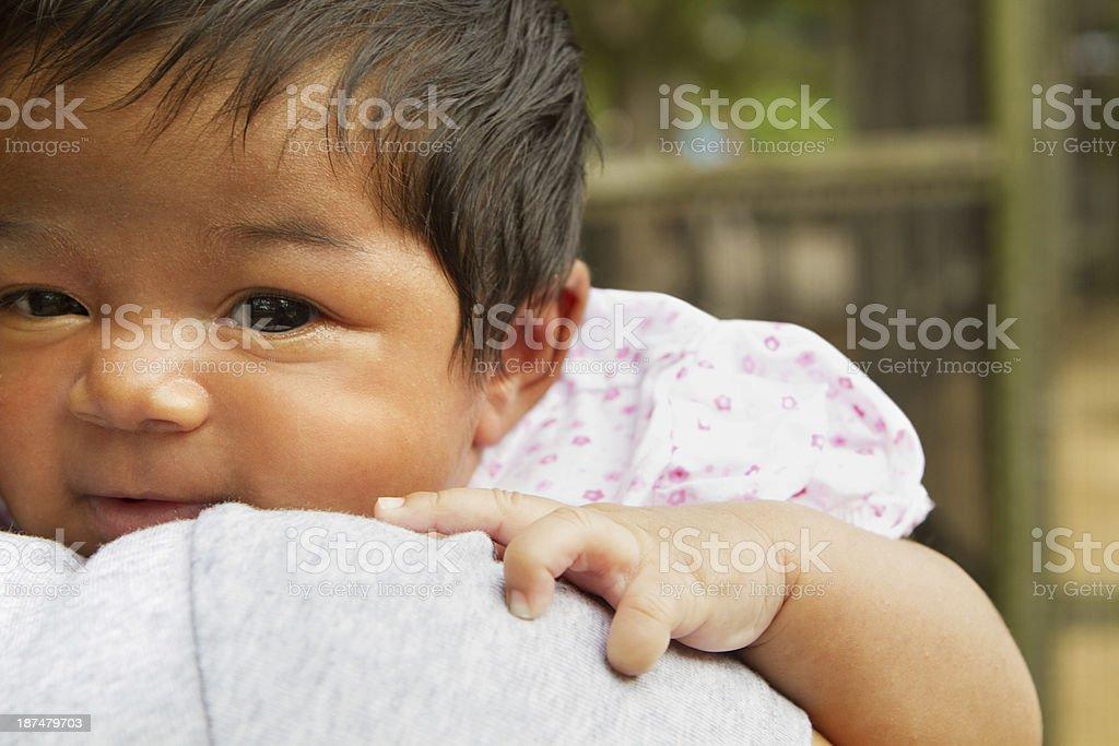 Hispanic Baby stock photo