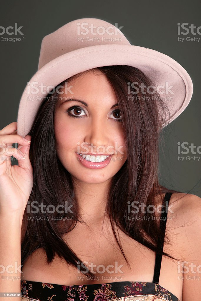 Hispanic Beauty stock photo