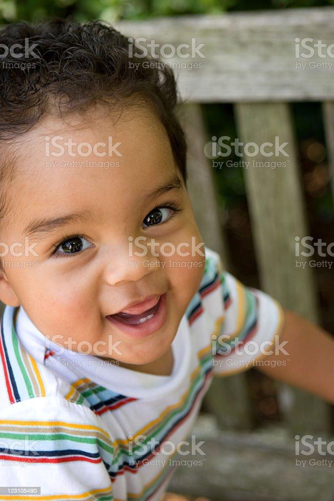 Hispanic Boy royalty-free stock photo