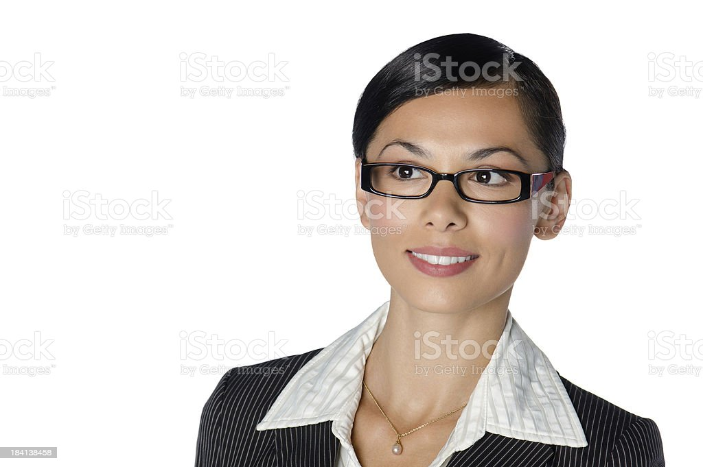 Hispanic Businesswoman royalty-free stock photo