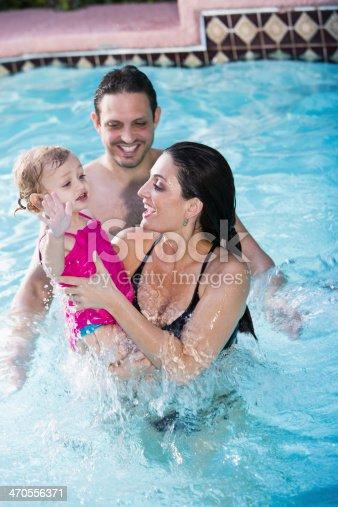 1063760138 istock photo Hispanic family in swimming pool 470556371