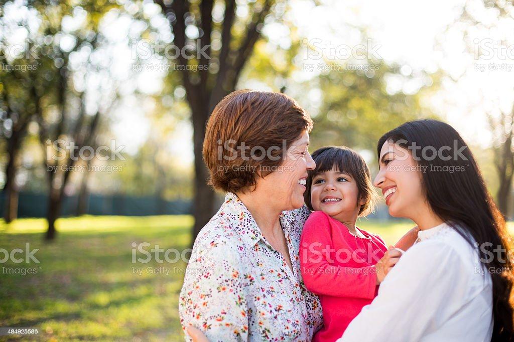 Famille hispanique - Photo