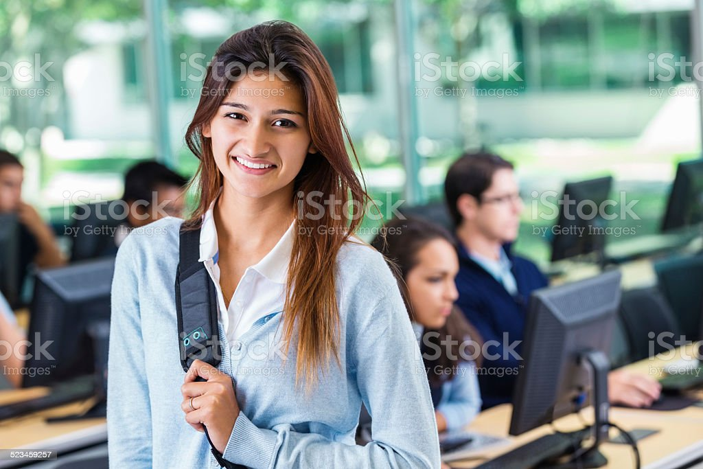 Sarkari Niyukti http://www.canfinhomes.com Sarkari Niyukti - Government Jobs in India - सरकारी नियुक्ति | Image Courtesy - https://media.istockphoto.com/photos/hispanic-girl-attending-private-college-prep-school-computer-class-picture-id523459257