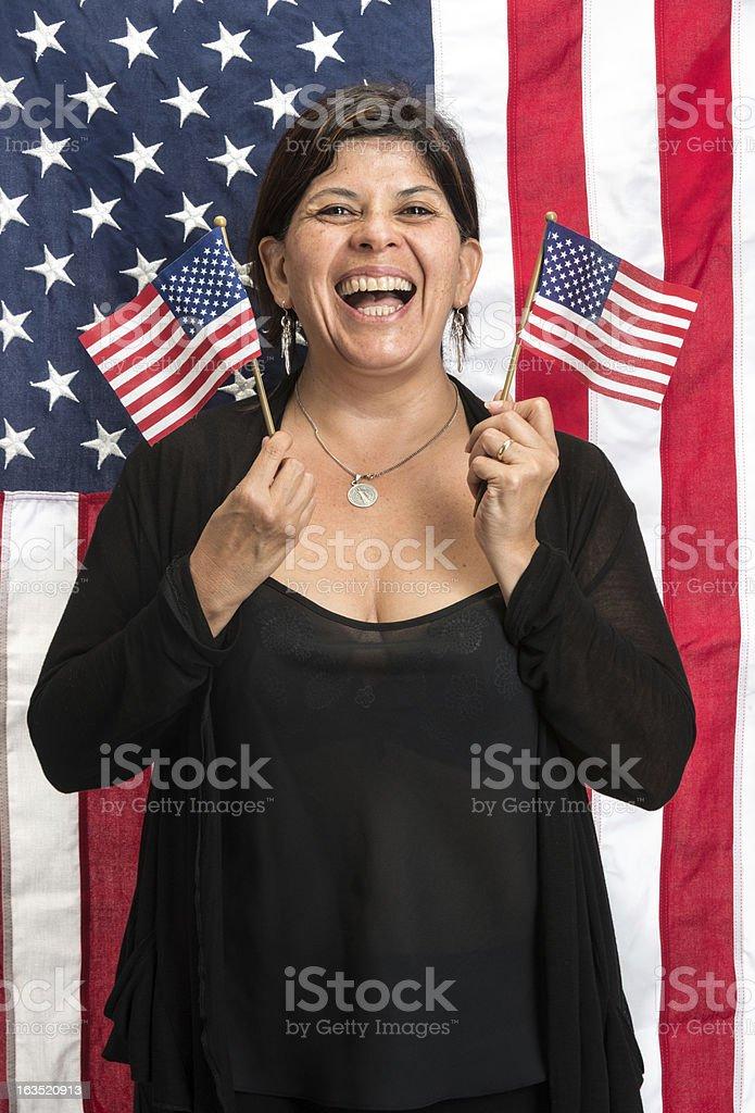 US Hispanic Immigrant royalty-free stock photo