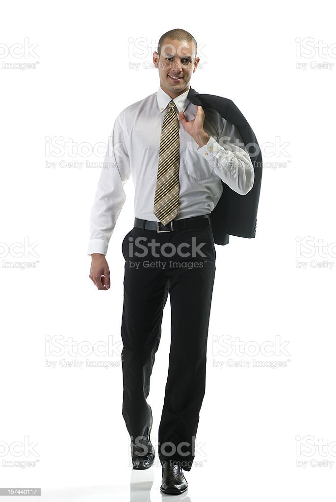 Hispanic male fashion model stock photo