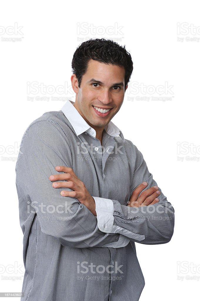 Hispanic male royalty-free stock photo