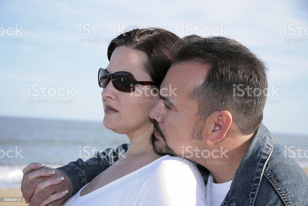 Hispanic Mann und seine Frau Lizenzfreies stock-foto