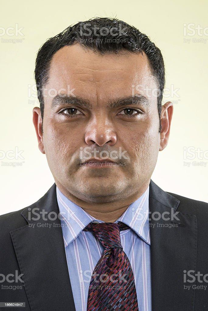 Hispanic mature man royalty-free stock photo