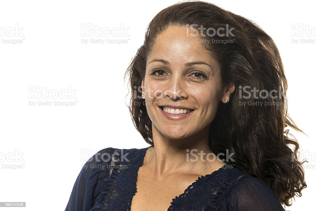Latin mature woman