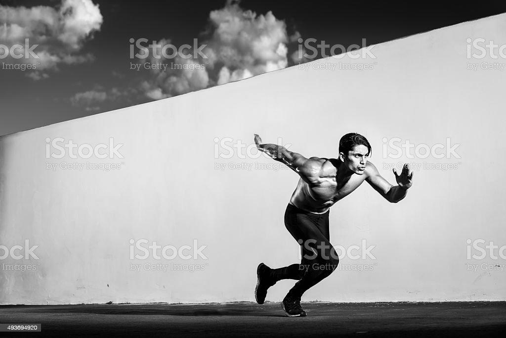 Runner hispanique - Photo