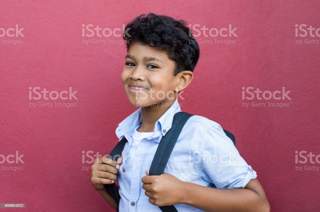 Hispanische Schuljunge – Foto