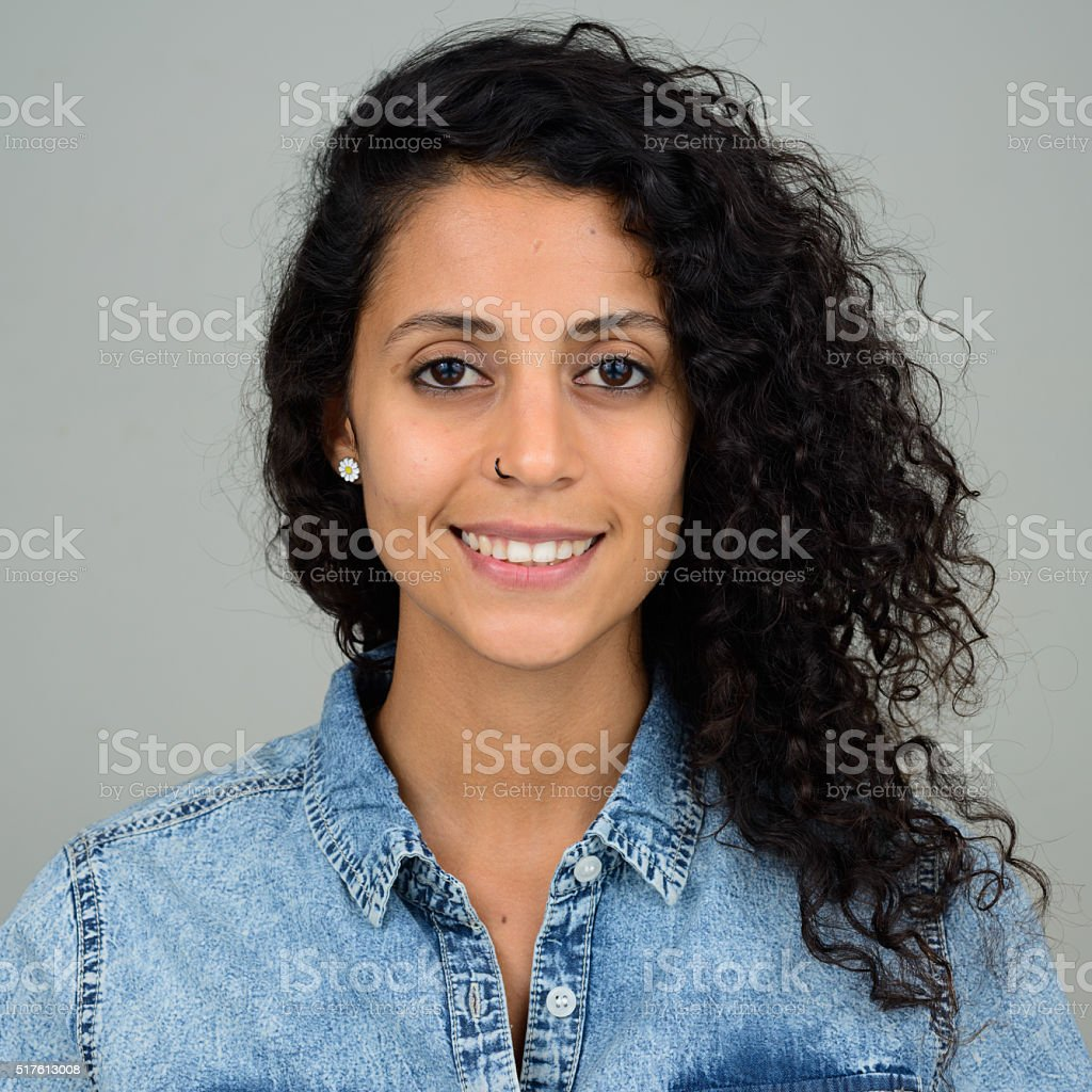 Hispanic woman stock photo