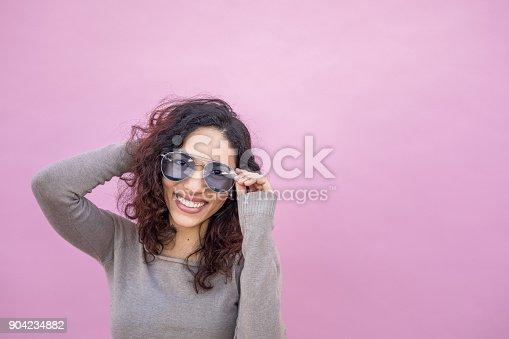 istock Hispanic Young woman with Positive Attitude 904234882