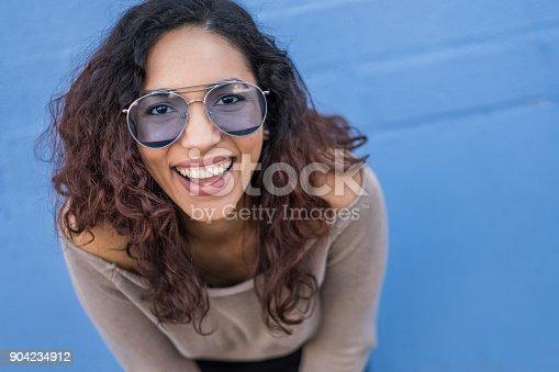 istock Hispanic Young woman with Positive Attitude 904234912